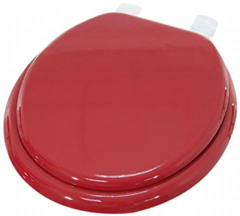 Gloss Red Toilet Seat